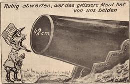 CPA - WW1 WWI Propaganda Propagande - Umoristica Satirica, Humour Satirique - NV - PV371 - Oorlog 1914-18