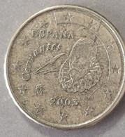2003  - SPAGNA - MONETA IN EURO  - DEL VALORE DI 10 CENTESIMI   - USATA - Spanien