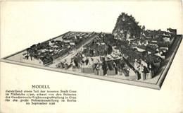 Graz/Steiermark Und Umgebung -  Modell Der Inneren Stadt Graz - Graz