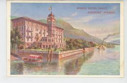 ITALIE - GARDONE - RIVIERA - GRAND HOTEL SAVOY - Otras Ciudades