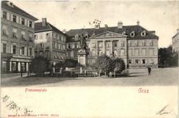 Graz/Steiermark Und Umgebung -     Franzensplatz - Graz