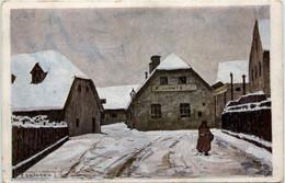 Graz/Steiermark Und Umgebung -    Der Erste Schnee - Rosenberggasse - Graz