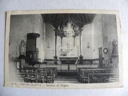 35 Crévin Intérieur De L'église - Ohne Zuordnung