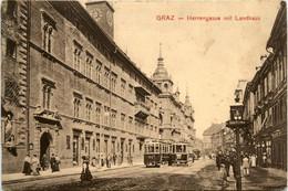 Graz/Steiermark Und Umgebung -   Herrengasse Mit Landhaus - Graz