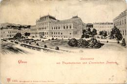 Graz/Steiermark Und Umgebung -   Universität Mit Physikalischen Und Chemischen Institut - Graz