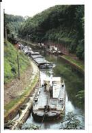 Touage De Riqueval : Départ Des Peniches Tractées Par Le Toueur - Houseboats