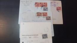 Portugal - Cavaleiro Medieval - 4 Cartas Circuladas - Covers & Documents