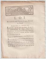 1790, Loi Relative Aux Tanneurs Et Autres Fabricans De Peaux - Gesetze & Erlasse