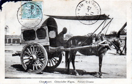Voiture Chinoise En 1911 - Cina