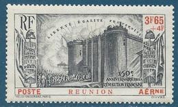 Réunion Poste Aérienne N°6 150ème Anniversaire De La Révolution Neuf** - Aéreo