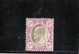 TRANSVAAL 1904-9 * - Transvaal (1870-1909)