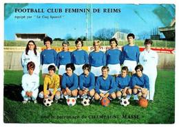 FOOTBALL CLUB FEMININ DE REIMS ( Signée) - Reims