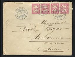 INDES NEERLANDAISES 1923: LSC De Taude Pour La Suisse - Netherlands Indies