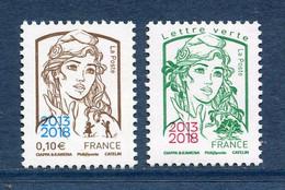 ⭐ France - Yt N° 5234 Et 5235 ** - Neuf Sans Charnière - 2018 ⭐ - Nuovi
