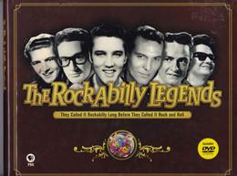 """C 14)Livres, Revues > Jazz, Rock, Country, Blues > """"The Rockabilly Legends 2007 (280 Pages) Avec DVD  (Fmt A 4) - Cultural"""