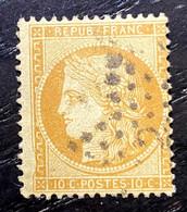 AFR69 - France N° 36 10c Bistre-jaune - Oblitéré/cancelled étoile - 1870 Siege Of Paris