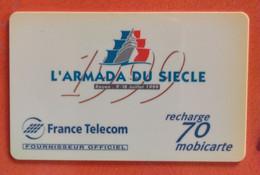 Mobicarte 70 - L' Armada Du Siècle - Kaarten Voor De Telefooncel (herlaadbaar)