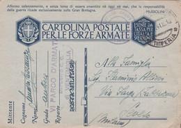 Cartolina Postale Per Le Forze Armate Viaggiata 1941 - Reclame