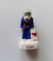 Fève Judo Sport Chien - Sport
