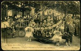 Cpa Saint Aignan  Fête Enfantine Du 19 Juillet 1909,  Beau Plan - Saint Aignan