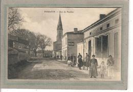 CPA - (33) HOURTIN - Aspect Du Café Figaro De La Rue De Pauillac En 1910 - Other Municipalities