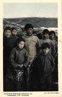 Grönland, Heidnische Eskimobevölkerung Von Umanatsiak, NW. Grönland, Phot. Dr. Arnold Heim - Groenlandia