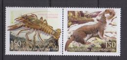 4.- LIECHTENSTEIN 2021 EUROPA 2021 ENDANGERED FAUNA - Unused Stamps