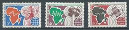 Tchad YT N°235/237 Journée Mondiale Des Télécommunications Oblitéré ° - Tsjaad (1960-...)