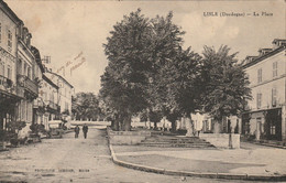 Dordogne : Lisle : La Place - 1929 - Otros Municipios