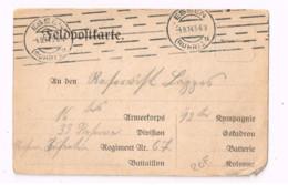 Feldpostkarte.Expédiée De Essen à La 33. Division. - Lettres & Documents