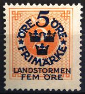 SUEDE                     N° 76                    NEUF SANS GOMME - Unused Stamps