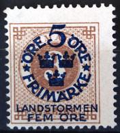 SUEDE                     N° 77                    NEUF SANS GOMME - Unused Stamps