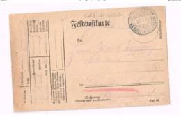 Feldpostkarte.Expédié De 6.Bay.Inf.Div. à Dorlar. - Lettres & Documents