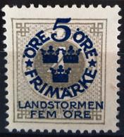 SUEDE                     N° 78                    NEUF SANS GOMME - Unused Stamps