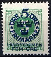SUEDE                     N° 79                    NEUF SANS GOMME - Unused Stamps