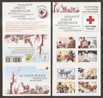 2015 Carnet Adhésif - BC 1132 Croix Rouge -Humanité - NEUF - LUXE ** NON Plié - Rotes Kreuz