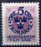 SUEDE                     N° 80                  NEUF SANS GOMME - Unused Stamps