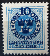 SUEDE                     N° 81                  NEUF SANS GOMME - Unused Stamps
