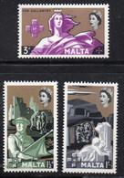 APR1397 - MALTA 1960 , Serie N. 265/267 ***  MNH  (2380) - Malta
