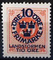SUEDE                     N° 82                  NEUF SANS GOMME - Unused Stamps