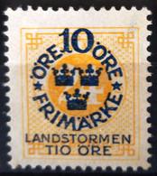 SUEDE                     N° 83                  NEUF SANS GOMME - Unused Stamps