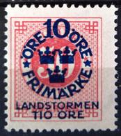 SUEDE                     N° 85                  NEUF SANS GOMME - Unused Stamps
