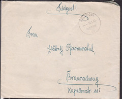 Feldpostbrief Aus Norwegen  , Polizei Bataillon 252  ,  1941 - Briefe U. Dokumente