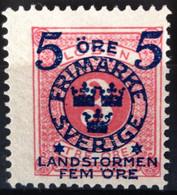SUEDE                     N° 88                 NEUF SANS GOMME - Unused Stamps