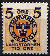 SUEDE                     N° 90                 NEUF SANS GOMME - Unused Stamps