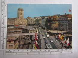 Suisse Lausanne Le Grand Pont Et La Tour Bel Air - Unclassified