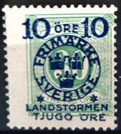 SUEDE                     N° 94                 NEUF SANS GOMME - Unused Stamps