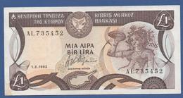 CYPRUS - P.53b – 1 Pound / Lira 1992  XF - Cyprus