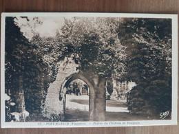 Nevez.port-manech.entrée Du Château De Poulguin.édition Gaby 63 - Névez