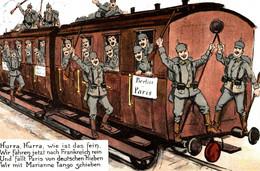 CPA - WW1 WWI Propaganda Propagande - Umoristica Satirica, Humour Satirique - NV - PV378 - Oorlog 1914-18